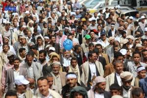 حملة 11 فبراير تخرج مسيرة حاشدة من ساحة التغيير بصنعاء تطالب باقالة و حاسبة حكومة الوفاق (177)