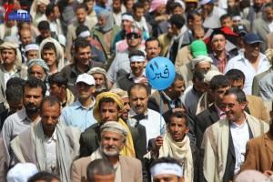 حملة 11 فبراير تخرج مسيرة حاشدة من ساحة التغيير بصنعاء تطالب باقالة و حاسبة حكومة الوفاق (178)