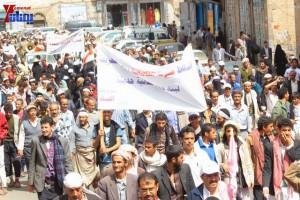 حملة 11 فبراير تخرج مسيرة حاشدة من ساحة التغيير بصنعاء تطالب باقالة و حاسبة حكومة الوفاق (185)