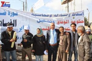 حملة 11 فبراير تخرج مسيرة حاشدة من ساحة التغيير بصنعاء تطالب باقالة و حاسبة حكومة الوفاق (19)