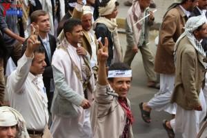 حملة 11 فبراير تخرج مسيرة حاشدة من ساحة التغيير بصنعاء تطالب باقالة و حاسبة حكومة الوفاق (197)