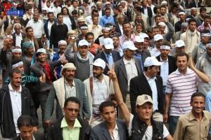 حملة 11 فبراير تخرج مسيرة حاشدة من ساحة التغيير بصنعاء تطالب باقالة و حاسبة حكومة الوفاق (199)