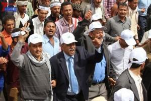 حملة 11 فبراير تخرج مسيرة حاشدة من ساحة التغيير بصنعاء تطالب باقالة و حاسبة حكومة الوفاق (201)