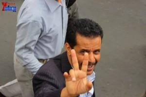 حملة 11 فبراير تخرج مسيرة حاشدة من ساحة التغيير بصنعاء تطالب باقالة و حاسبة حكومة الوفاق (204)