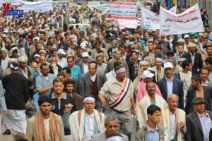 حملة 11 فبراير تخرج مسيرة حاشدة من ساحة التغيير بصنعاء تطالب باقالة و حاسبة حكومة الوفاق (207)