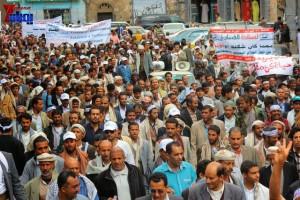 حملة 11 فبراير تخرج مسيرة حاشدة من ساحة التغيير بصنعاء تطالب باقالة و حاسبة حكومة الوفاق (208)
