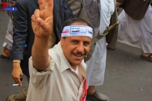 حملة 11 فبراير تخرج مسيرة حاشدة من ساحة التغيير بصنعاء تطالب باقالة و حاسبة حكومة الوفاق (211)