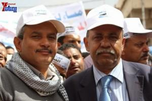 حملة 11 فبراير تخرج مسيرة حاشدة من ساحة التغيير بصنعاء تطالب باقالة و حاسبة حكومة الوفاق (216)