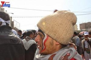 حملة 11 فبراير تخرج مسيرة حاشدة من ساحة التغيير بصنعاء تطالب باقالة و حاسبة حكومة الوفاق (22)