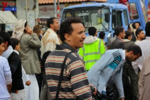 حملة 11 فبراير تخرج مسيرة حاشدة من ساحة التغيير بصنعاء تطالب باقالة و حاسبة حكومة الوفاق (228)
