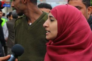 حملة 11 فبراير تخرج مسيرة حاشدة من ساحة التغيير بصنعاء تطالب باقالة و حاسبة حكومة الوفاق (229)