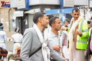 حملة 11 فبراير تخرج مسيرة حاشدة من ساحة التغيير بصنعاء تطالب باقالة و حاسبة حكومة الوفاق (232)