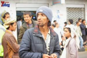 حملة 11 فبراير تخرج مسيرة حاشدة من ساحة التغيير بصنعاء تطالب باقالة و حاسبة حكومة الوفاق (233)