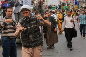حملة 11 فبراير تخرج مسيرة حاشدة من ساحة التغيير بصنعاء تطالب باقالة و حاسبة حكومة الوفاق (234)