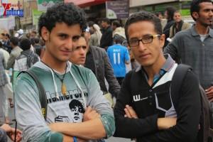 حملة 11 فبراير تخرج مسيرة حاشدة من ساحة التغيير بصنعاء تطالب باقالة و حاسبة حكومة الوفاق (235)