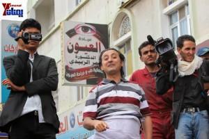 حملة 11 فبراير تخرج مسيرة حاشدة من ساحة التغيير بصنعاء تطالب باقالة و حاسبة حكومة الوفاق (239)