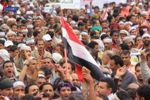 حملة 11 فبراير تخرج مسيرة حاشدة من ساحة التغيير بصنعاء تطالب باقالة و حاسبة حكومة الوفاق (246)