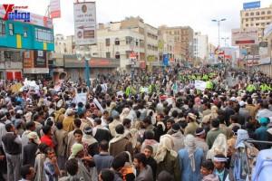 حملة 11 فبراير تخرج مسيرة حاشدة من ساحة التغيير بصنعاء تطالب باقالة و حاسبة حكومة الوفاق (249)