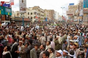 حملة 11 فبراير تخرج مسيرة حاشدة من ساحة التغيير بصنعاء تطالب باقالة و حاسبة حكومة الوفاق (257)