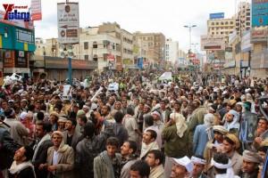 حملة 11 فبراير تخرج مسيرة حاشدة من ساحة التغيير بصنعاء تطالب باقالة و حاسبة حكومة الوفاق (259)