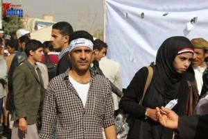 حملة 11 فبراير تخرج مسيرة حاشدة من ساحة التغيير بصنعاء تطالب باقالة و حاسبة حكومة الوفاق (28)