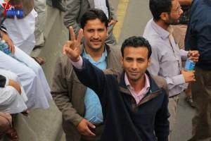 حملة 11 فبراير تخرج مسيرة حاشدة من ساحة التغيير بصنعاء تطالب باقالة و حاسبة حكومة الوفاق (280)