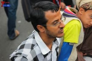 حملة 11 فبراير تخرج مسيرة حاشدة من ساحة التغيير بصنعاء تطالب باقالة و حاسبة حكومة الوفاق (282)