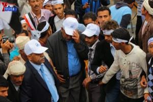 حملة 11 فبراير تخرج مسيرة حاشدة من ساحة التغيير بصنعاء تطالب باقالة و حاسبة حكومة الوفاق (292)