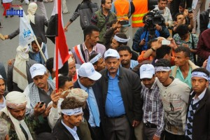 حملة 11 فبراير تخرج مسيرة حاشدة من ساحة التغيير بصنعاء تطالب باقالة و حاسبة حكومة الوفاق (294)