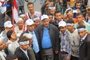 حملة 11 فبراير تخرج مسيرة حاشدة من ساحة التغيير بصنعاء تطالب باقالة و حاسبة حكومة الوفاق (295)