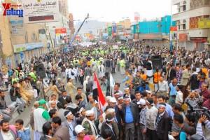 حملة 11 فبراير تخرج مسيرة حاشدة من ساحة التغيير بصنعاء تطالب باقالة و حاسبة حكومة الوفاق (297)