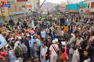 حملة 11 فبراير تخرج مسيرة حاشدة من ساحة التغيير بصنعاء تطالب باقالة و حاسبة حكومة الوفاق (309)