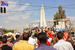حملة 11 فبراير تخرج مسيرة حاشدة من ساحة التغيير بصنعاء تطالب باقالة و حاسبة حكومة الوفاق (32)