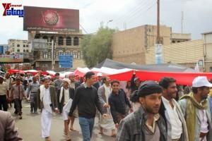 حملة 11 فبراير تخرج مسيرة حاشدة من ساحة التغيير بصنعاء تطالب باقالة و حاسبة حكومة الوفاق (326)