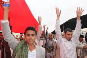 حملة 11 فبراير تخرج مسيرة حاشدة من ساحة التغيير بصنعاء تطالب باقالة و حاسبة حكومة الوفاق (330)
