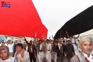 حملة 11 فبراير تخرج مسيرة حاشدة من ساحة التغيير بصنعاء تطالب باقالة و حاسبة حكومة الوفاق (331)