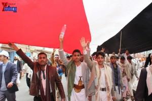 حملة 11 فبراير تخرج مسيرة حاشدة من ساحة التغيير بصنعاء تطالب باقالة و حاسبة حكومة الوفاق (332)