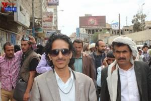 حملة 11 فبراير تخرج مسيرة حاشدة من ساحة التغيير بصنعاء تطالب باقالة و حاسبة حكومة الوفاق (335)