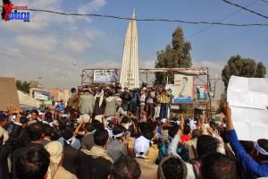 حملة 11 فبراير تخرج مسيرة حاشدة من ساحة التغيير بصنعاء تطالب باقالة و حاسبة حكومة الوفاق (34)