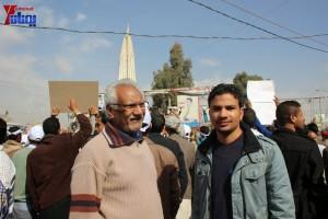 حملة 11 فبراير تخرج مسيرة حاشدة من ساحة التغيير بصنعاء تطالب باقالة و حاسبة حكومة الوفاق (37)