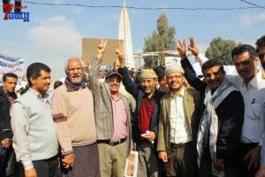 حملة 11 فبراير تخرج مسيرة حاشدة من ساحة التغيير بصنعاء تطالب باقالة و حاسبة حكومة الوفاق (39)