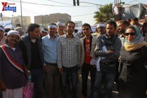 حملة 11 فبراير تخرج مسيرة حاشدة من ساحة التغيير بصنعاء تطالب باقالة و حاسبة حكومة الوفاق (4)