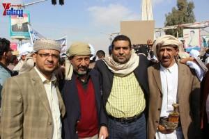 حملة 11 فبراير تخرج مسيرة حاشدة من ساحة التغيير بصنعاء تطالب باقالة و حاسبة حكومة الوفاق (41)