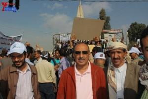 حملة 11 فبراير تخرج مسيرة حاشدة من ساحة التغيير بصنعاء تطالب باقالة و حاسبة حكومة الوفاق (42)