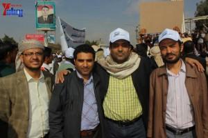 حملة 11 فبراير تخرج مسيرة حاشدة من ساحة التغيير بصنعاء تطالب باقالة و حاسبة حكومة الوفاق (43)
