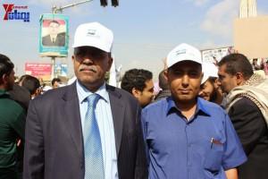 حملة 11 فبراير تخرج مسيرة حاشدة من ساحة التغيير بصنعاء تطالب باقالة و حاسبة حكومة الوفاق (44)
