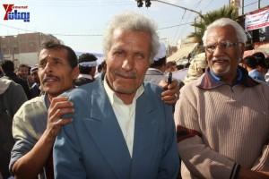 حملة 11 فبراير تخرج مسيرة حاشدة من ساحة التغيير بصنعاء تطالب باقالة و حاسبة حكومة الوفاق (45)