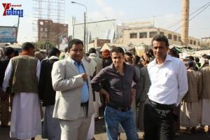 حملة 11 فبراير تخرج مسيرة حاشدة من ساحة التغيير بصنعاء تطالب باقالة و حاسبة حكومة الوفاق (46)