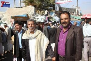 حملة 11 فبراير تخرج مسيرة حاشدة من ساحة التغيير بصنعاء تطالب باقالة و حاسبة حكومة الوفاق (47)