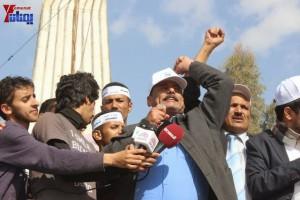 حملة 11 فبراير تخرج مسيرة حاشدة من ساحة التغيير بصنعاء تطالب باقالة و حاسبة حكومة الوفاق (48)